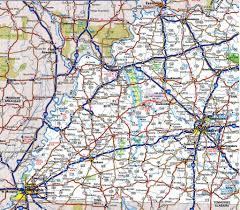 Florida Highway Map Kentucky State Highway