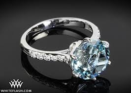 birthstone engagement rings expensive ring for newlyweds aquamarine birthstone engagement rings