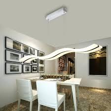 dining pendant lamp hanging room lights fixtures rectangular