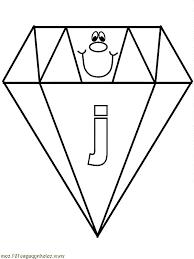 jewel diamond shape colouring jewel diamond shape colouring