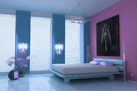 bedroom large blue and purple bedrooms for girls concrete