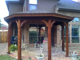 Gazebo On Patio by Gazebo Type Patio Cover In Mckinney Tx Hundt Patio Covers And Decks
