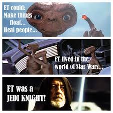 Et Is A Jedi Meme - the creative spark