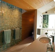 laying ceramic tile powder room contemporary with baseboards metal