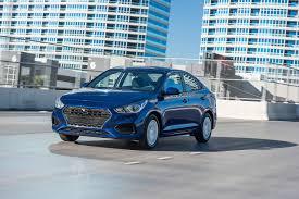 hatchback hyundai accent 2018 hyundai accent first drive automobile magazine