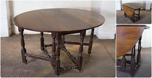 Table Legs With Casters by Northcliffantiques Cottagefurniture Large Oak Gateleg Table With