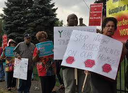 Wayne County Tax Map Tax Foreclosure Protesters To Wayne County Treasurer You Have The