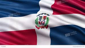 Dominican Republic Flags 4k Flag Of The Dominican Republic Seamless Loop Ultra Hd Stock