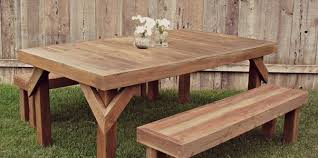free picnic table plans woodwork city free woodworking plans