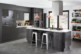high gloss black kitchen cabinets contemporary kitchen design ideas help ideas diy at bq