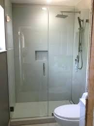Cost Of Frameless Glass Shower Doors Frameless Shower Door Installation Cost Glass Shower Door Install