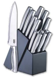 Cutlery Kitchen Knives Amazon Com Cook N Home 15 Piece Stainless Steel Cutlery Set With