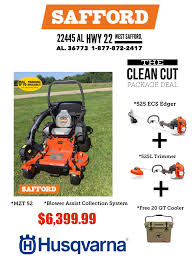 safford equipment husqvarna estate package deal husqvarna