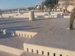 Sea Organ Top 1 Reasons To Visit Zadar Trains On The Brain Trains On The
