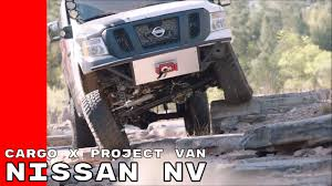 nissan cargo van black nissan nv cargo x project van youtube