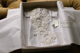 wedding dress donation wedding dress hanging around in your closet why not donate it