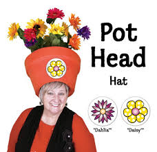 Pot Halloween Costumes Trendy Halloween Costumes Women Funny Floral Pot Head