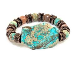 gemstone beaded bracelet images Gemstone beaded bracelet stretch bracelet sea sediment sun jpg
