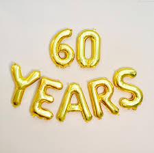 celebrating 60 years birthday 60 years balloon 60th birthday photo prop 60th anniversary