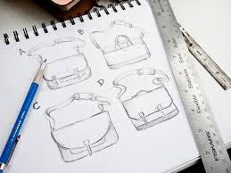 messenger bag process from sketch to finished product u2013 ugmonk