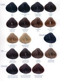 mahogany hair color chart abradel yellow hair color