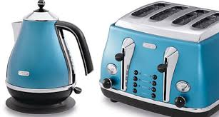Toasters Delonghi Small Appliances In Azure Blue By Delonghi Uk At Home With Kim