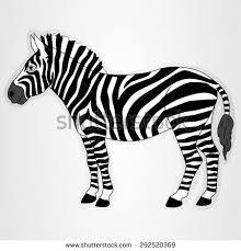 stock images similar to id 352189670 zebra doodle