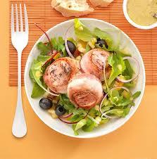 barde cuisine salade au chèvre bardé et à la pomme colruyt
