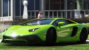 Green Lamborghini Aventador - 2015 lamborghini aventador lp700 4 add on sv kit stock