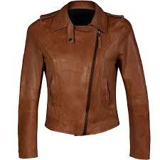 light brown leather jacket womens ladies cross zip brown biker leather jacket leather jackets usa