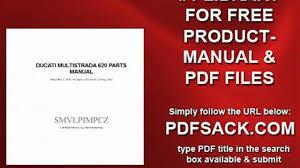 ducati multistrada 620 parts manual video dailymotion