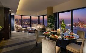 wallpapers interior design beautiful interior design with water view wallpaper allwallpaper