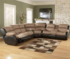 reclining sectional with chaise u0026 signature design by ashley
