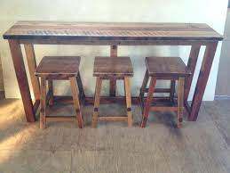 reclaimed wood pub table sets rustic pub table sets sun pine rustic bar table set natural tone