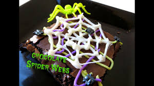 halloween spider web cake how to make diy halloween chocolate spider webs cupcake dessert
