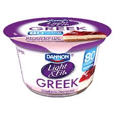 dannon light and fit greek dannon light fit greek strawberry cheesecake 5 3 oz meijer com