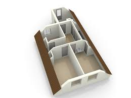 3d floorplanner 3d floor plan of an attic made with floorplanner com attic