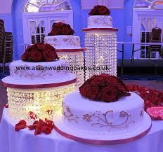 crystal wedding cake stand wedding corners