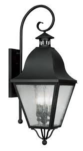 exterior black outdoor sconce lighting by livex lighting for