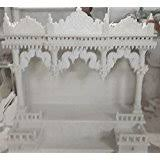 Marble Temple Home Decoration Buy Marble Mandir Online At Low Prices In India Amazon In
