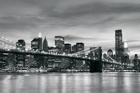 brooklyn bridge new york black white wallpaper mural by brooklyn bridge new york black white wallpaper mural by consalnet amazon com