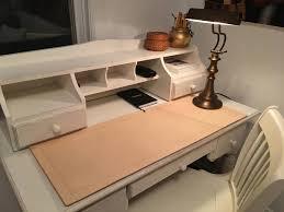 Custom Desk Accessories by Csherwoodleather Handmade Desk Blotter Matsideboard Table