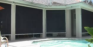how do exterior or outdoor shades work blindsgalore blog