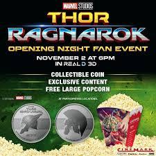 Thor Ragnarok Opening Night Fan Event Hshire Mall