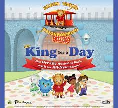 daniel tiger s neighborhood live king for a day at arlene