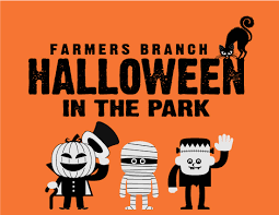 farmers branch tx official website halloween in the park
