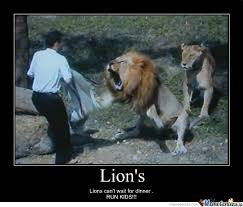 Fear Meme - run kids don t hide lions can smell fear by ako sii khyle meme center