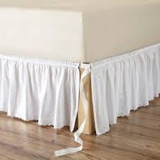 White Ruffle Bed Skirt Bedroom Beautify Your Bed Using Charming Dust Ruffles U2014 Eakeenan Com