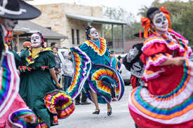 dia de los muertos procession and festival city of round rock