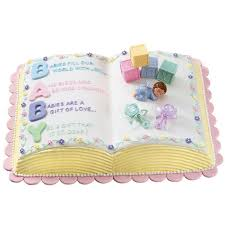 letter perfect baby shower cake wilton